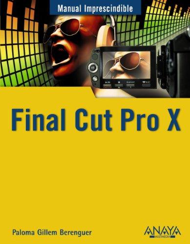 Final Cut Pro X par  PALOMA GUILLEM BERENGUER