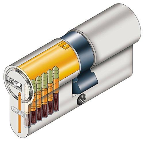 ABUS Tür-Zylinder/Schloss mit 5 Schlüssel - 2