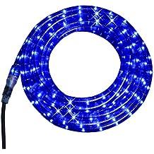 Star 558-49 Cordon Lumineuse 8 Fonctions Électriques Bleu Longueur 8 m