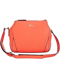 Lavie Luba Women's Sling Bag (Dk.Orange)