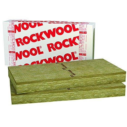 20mm Rockwool Frontrock Max E 4,8m² Steinwolle Putzträgerplatte Fassadendämmung Wärmedämmung Fassade Laibung Dämmung