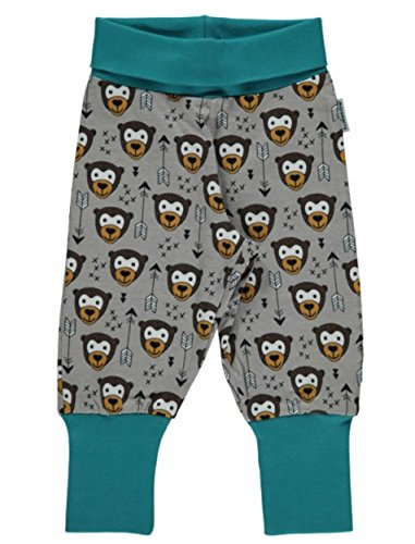 Cuff Capri (Maxomorra Baby Pants Rib LITTLE ARROW MONKEY 86/92)