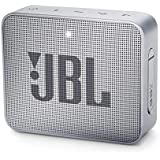 JBL Go 2 - Mini enceinte Bluetooth Portable - Étanche pour Piscine & Plage Ipx7 - Autonomie 5hrs - Qualité Audio JBL - Gris