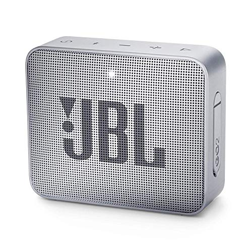 JBL Go 2 - Altavoz inalámbrico con Bluetooth, Color Gris
