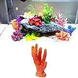 GUBENM Kunststoff Korallen geformte Ornament Dekor, Künstliches Harz Korallen Pflanze Aquarium Fish Tank Dekorationen Unterwasser Ornament