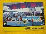 Antigua Postal Publicidad - Old Advertising Postcard : LAS PALMAS DE GRAN CANARIA - Hotel Reina Isabel