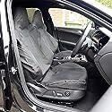UK Custom Covers SC163BAD5 Maßgeschneidert Vorne Seat Bezüge x2 - Sleek für - Schwarz