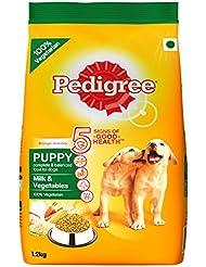 Pedigree Puppy Dog Food Milk and Vegetables, 1.2 kg