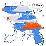 JoyGrow Pistole ad Acqua per Bambini, 3 Pack Water Squirt Gun per Water Fight Grandi Giocattoli Estivi all'aperto per Divertimento
