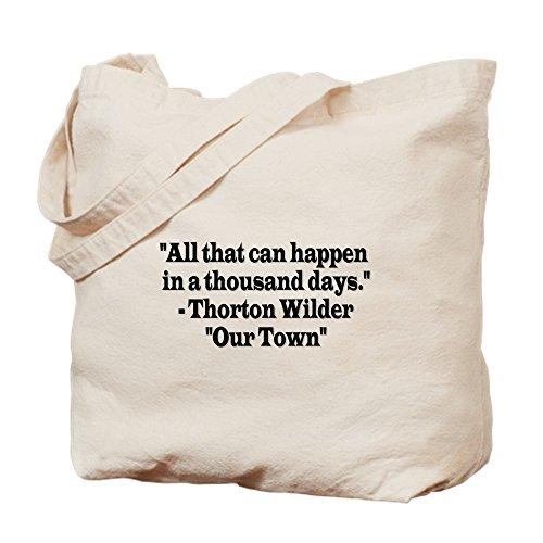 CafePress–ourtown–Leinwand Natur Tasche, Reinigungstuch Einkaufstasche Tote S khaki