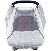 Mosquitera para cochecito de bebé, capa de aire gris, protección solar, aislamiento térmico, refrigeración, poliéster, algodón, toalla protectora solar