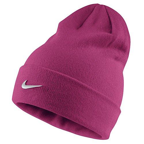 Nike Y NK BEANIE METAL SWOOSH - Berretto - Rose - One size, Unisex