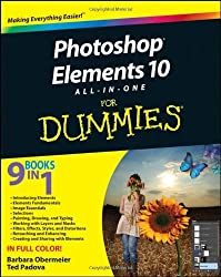 Photoshop Elements 10 All-in-One For Dummies by Barbara Obermeier (2011-12-16)