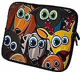 """#DoYourMobile© 6Zoll Tasche/Schutzhülle für eBook-Reader/eReader - wasserdichtes Neopren mit Reißverschluss in der Größe 18,5 x B 14cm/für Tablets mit Bildschirmgröße ca. 6,5-7,2""""/Design : 56"""