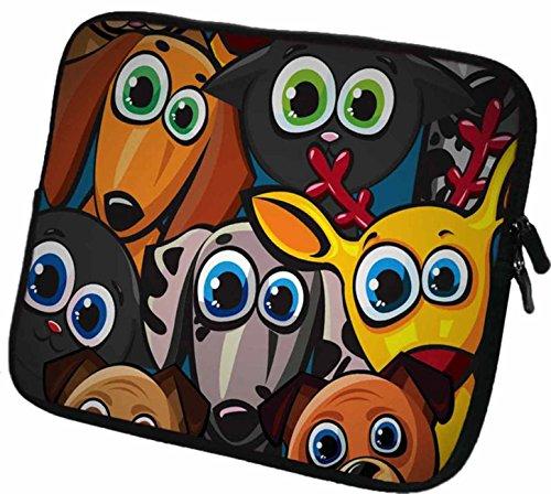 """#DoYourMobile© 6Zoll Tasche/Schutzhülle für eBook-Reader/eReader - wasserdichtes Neopren mit Reißverschluss in der Größe 18,5 x B 14cm / für Tablets mit Bildschirmgröße ca. 6,5-7,2\"""" / Design : 56"""