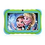 iRULU Kids Tablet 7 Inch HD Display Upgraded Y57 Babypad PC Andriod 7.1 with WiFi Camera Bluetooth and Game GMS Certified 1G/16GB Kids Edition Shock-Proof Tablets