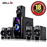 iBELL IBL2045DLX 5.1 Home Theater Speaker System Multimedia with FM Stereo, Bluetooth, USB/SD/MMC/AUX