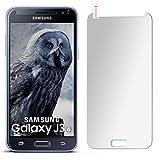 moex 9H Panzerfolie für Samsung Galaxy J3 (2016) | Panzerglas Matt Glasfolie [Tempered Glass] Screen Protector Displayschutz-Folie für Samsung Galaxy J3 2016 Schutzfolie Glas