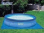 Tapis de sol bleu INTEX piscine ronde...