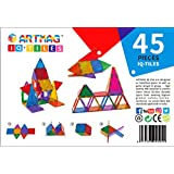 ARTMAG IQ TILES ARTMAG IQ-TILES Magnetic Tiles for Kids - 45pieces