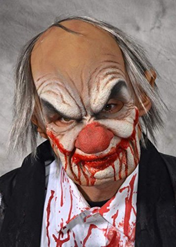 Deluxe Horror Smiley Clown Maske