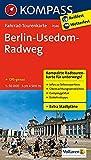 Berlin-Usedom-Radweg: Fahrrad-Tourenkarte. GPS-genau. 1:50000.: Fietsroutekaart 1:50 000 (KOMPASS-Fahrrad-Tourenkarten, Band 7046)