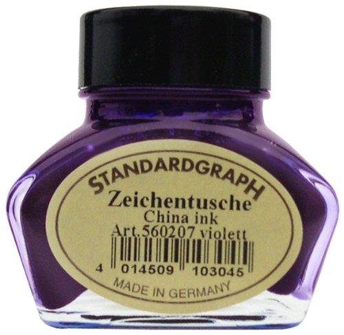 Tusche violett 30ml Glas