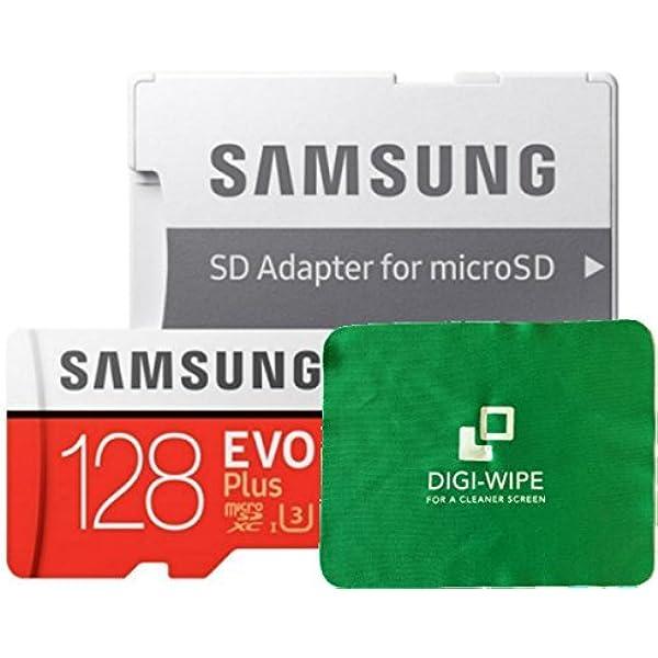 128 Gb Micro Sd Evo Plus Speicherkarte Für Samsung Galaxy M11 M21 Und M31 Inklusive Digi