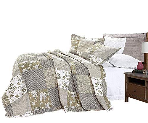 Home & Garden Afghans & Throw Blankets Energetic Couvre-lit Marron 200 X 220 Cm Muslu