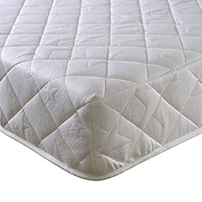 Happy Beds Comfort 3000 Orthopaedic Pocket Sprung Reflex Foam Mattress, White, Various Sizes - cheap UK light shop.