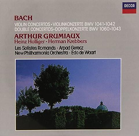 Bach : Concertos pour violon BWV 1040 et 1041 - Double concertos BWV 1043 et 1060