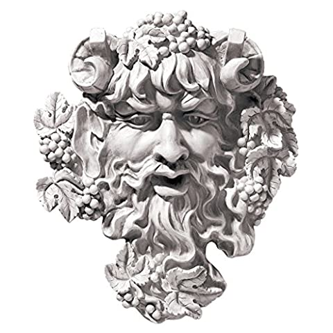 Design Toscano Bacchus, God of Wine: Greenman Wall
