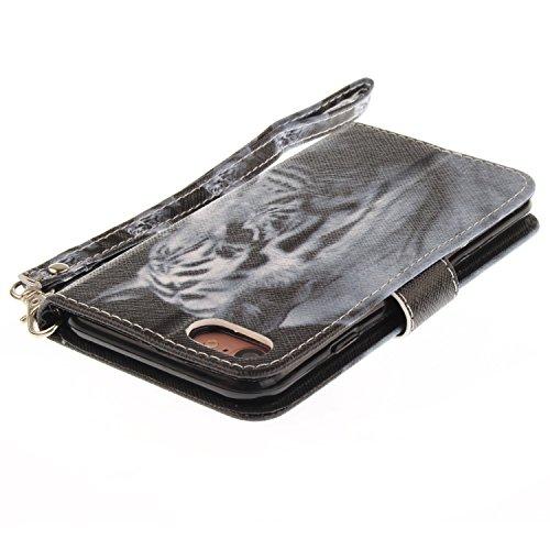 Custodia iphone 7 iphone 8 cover cozy hut flip caso in pelle