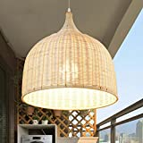 Suspension rotin luminaires eclairage for Plafonnier osier
