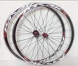 Whool Jeu de roues de vélo de route, ultra-légères à roulement scellé, 700C, seulement 1650g, jante de 30mm