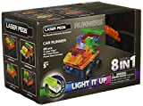 Laser Pegs 8-in-1 Runner Car Construction Set