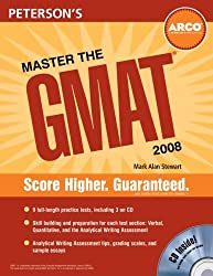 Master the GMAT, 2008/e, w/CD