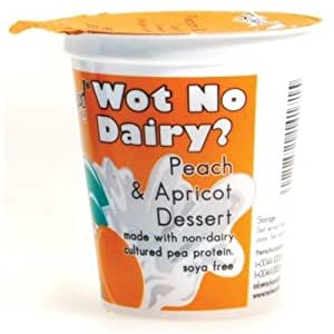 Wot No Dairy Peach and Apricot Dessert 145 g (Pack of 24)