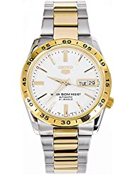 Seiko Herren-Armbanduhr XL Analog Automatik Edelstahl beschichtet SNKE04K1