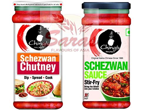 Chings Lovers Selections: Schezwan Chutney + Schezwan Sauce