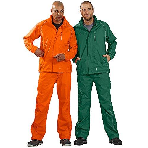 Planam Monsun-Jacke Arbeitsjacke orange