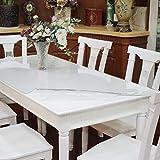 Ertex Tischdecke Tischfolie Schutzfolie Tischschutz Folie Transparent 1,7 mm 1A Qualität Lebensmittelecht ( 70 x 50 cm )