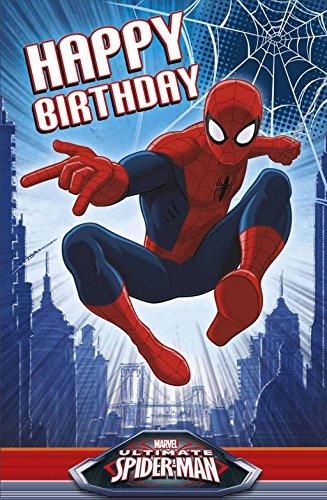 Ultimate Spiderman ouvert Joyeux anniversaire Disney NEUF Flash–avec masque