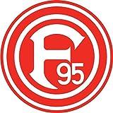 Fortuna Dusseldorf Germany Soccer Football Hochwertigen Auto-Autoaufkleber 12 x 12 cm