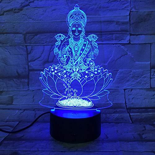 Nachtlicht abbildung usb 3d led nachtlicht religion gläubiger dekorative lichter mama mutter geschenk schreibtischlampe schlafzimmer -
