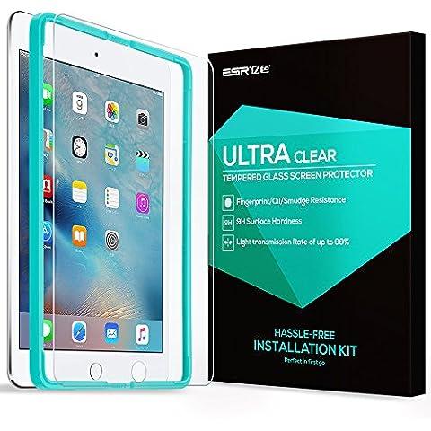 iPad Air / Air2 / Pro 9.7 Protector de Pantalla + Herramienta, ESR Vidrio Templado Protector de Pantalla Defensa Membrana para Apple iPad Air / iPad Air2 / iPad Pro
