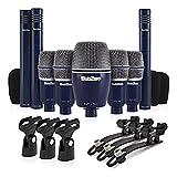 SubZero SZD-8000 Drum-Mikrofon-Set 8-teilig