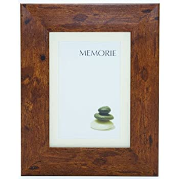 Memoire Frames Richmond Rustic 10 x 12-inch Photo Frame with Cream ...