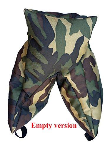 Grappler Kamera Bohnensack, Army. Empty. Leer. Wildlife Photography Sitzsack. MATERIAL: Armee Muster...