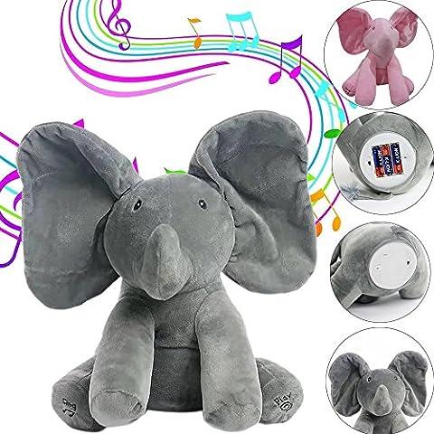 Musicale l'Eléphant Flappy Covermason Parler hamster électronique PET Talking peluche Mouse Buddy pour les enfants